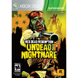 Rockstar Juegos Red Dead Redemption Undead Nightmare (xbox