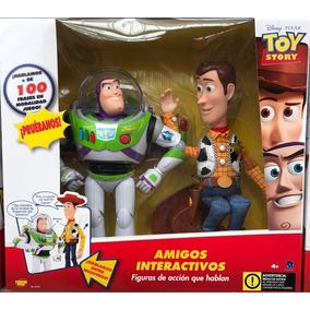 Woody Y Buzz Light Year Juego Interactivo Disney Toy Story