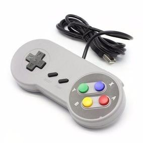 Controle Usb Super Nintendo Snes Joystick Barato Oferta Kart