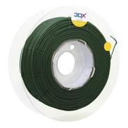 Filamento Pla Verde Escuro Metal 500g 1,75mm 3dx