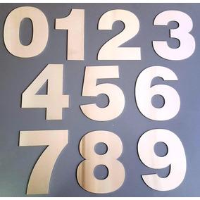 Numeros Acero Inoxidable 15cm Frentes Casa X 3 Unid Verashop