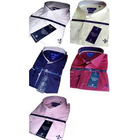Kit 5 Camisa Social Dudalina Masculina Slim Fit