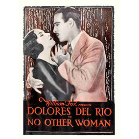 Lienzo Tela Cartel Película No Other Woman Dolores Del Río
