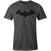 Playera Superheroes Batman Joker Caballero De La Noche Gris