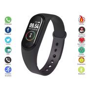 Relógio Inteligente Smartwatch Monitor Cardíaco E Pressão M4