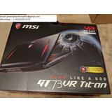 Nuevo Msi Gaming Gt75vr 7re-dominator013 2.9 Ghz I7-7820hk 1
