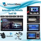Auto Radio 7 Pantalla Táctil , Mp5, Bluetooth Estéreo+cámara
