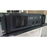Amplificador Potencia Staner S 2000 = 2000 Watts Rms