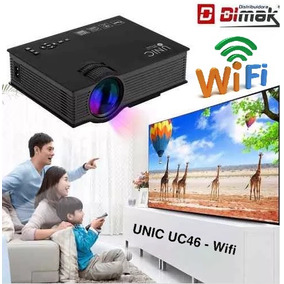 Mini Proyector Unic Uc46, Wifi, Full Hd 1080, 1200 Lumenes!
