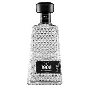 Bebida Alcohol Tequila Cristal 1800 750 Ml Cuatro Jinetes