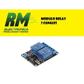 Modulo Relay 2 Canal Para Arduino