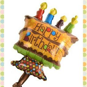 Globos En Forma De Torta Pastel Al Mayor 14 Cupcake Cumple