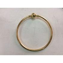 Bracelete Dourado Ou Rose.estilo Pandora Rígido.