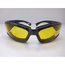 Lentes Goggle Manejar De Noche Mica Amarillo
