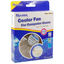 Fan Cooler Pc 120mm-12cm 5-12v Transparente Nycetek | Tienda