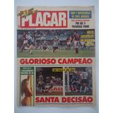 Placar #993 Botafogo Campeão Carioca 1989 Com Poster