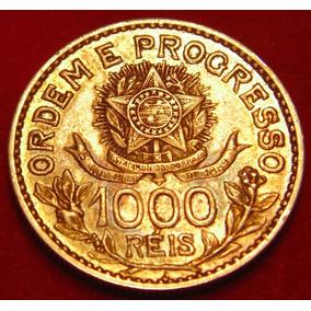 Moeda Prata 1000 Réis 1913, Estr. Soltas, Bela Patina, P06