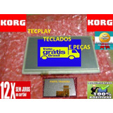 Display Teclado Korg Pa300 Completo Lcd + Touchscreen (novo)