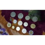 Monedas Antiguas De Peru Y Otras Actuales De Colombia