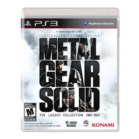 Metal Gear Solid Legacy Collection Ps3 Fisico Nuevo Vdgmrs