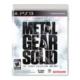 Metal Gear Solid Legacy Collection 2 Discos Fisico Nuevo