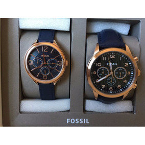 Pack Reloj Fossil Hombre Y Mujer