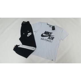 Conjunto Nike Air - Sudadera Jogger Nike + Camiseta Nike