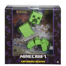 Minecraft Surtido Figuras Accion Especial Creeper Dinamita