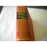 Diccionario Frances - Castellano -- Castellano - Frances