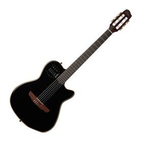 Guitarra Godin Acs Slim Cedar Black Con Funda Gigbag Godin