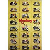 Honda 3 Mono Z50 Mini Bike Minitrai Dax Poster Classic - R