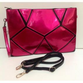 Bolsa Carteira Rosa Pink Metalizada Linda!