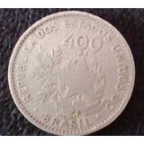 Moeda Antiga Republica Dos Estados Unidos 400 Reis