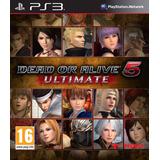 Dead Or Alive 5 Ultimate Ps3 Digital Gcp