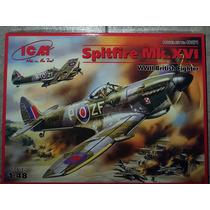 Maqueta Para Armar Avion Spitfire Mk Xvi Icm 1/48
