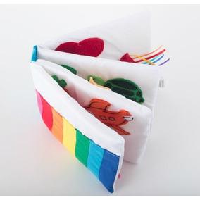 Libro De Tela Colores Artesanal Didáctico Montessori Waldorf