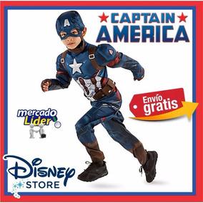 Disfraz Capitan America Disney Civil War 5-6
