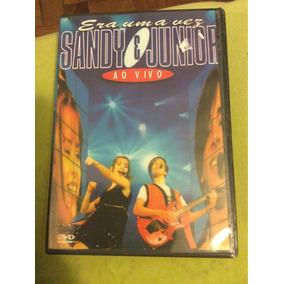 Dvd Sandy E Junior Era Uma Vez Ao Vivo