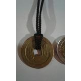 Collar Moneda De La Suerte Y Dinero China Nro 2
