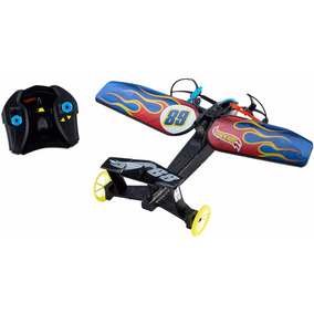 Hot Wheels Auto Avion Control Remoto Vuela Corre Disponible