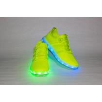 Tenis Neon Led Glowparty Tenis Luminosos Iluminados Original