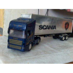 Tracto Camion Scania Con Caja Seca A Scala