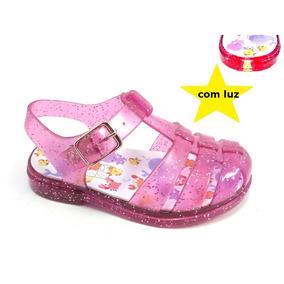 Calçado Tipo Melissinha Sandalia Crianças Meninas Bebes Top