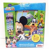 La Casa De Mickey Mouse. Lector Magico Y 8 Libros
