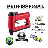 Grampeador Pneumático 8016 - Tapeceiro + 11.250 Grampo 80/10