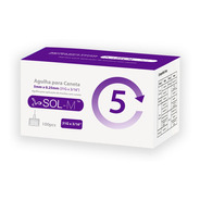 Agulha Para Caneta De Insulina 5mm 31g C/100un