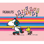 Mouse Pad Snoopy En Patines Peanuts Tapete Almohadilla