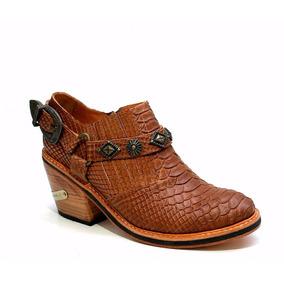 Botas Y Botinetas Texanas Zapatos Botas Y Botinetas Charrita
