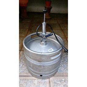 Barril Y Bomba Cerveza De Barril Cuauhtemoc