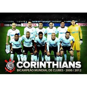Corinthians - Bi Campeão Mundial - Timão - Poster 40x30cm